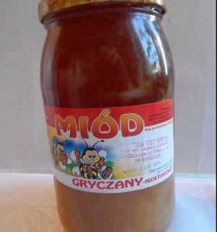 Miód gryczany 0,9 l