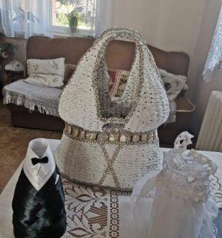 Kosz dla nowożeńców