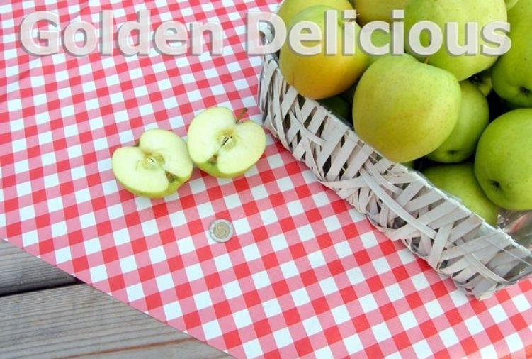 Jabłka Golden Delicious II gatunek